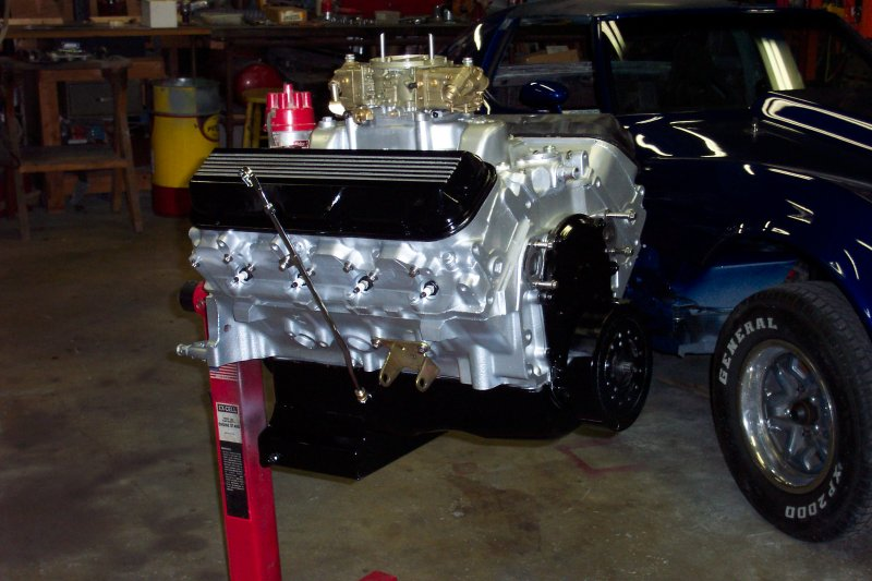 Questions on using a Gen VI 454 with a carburetor